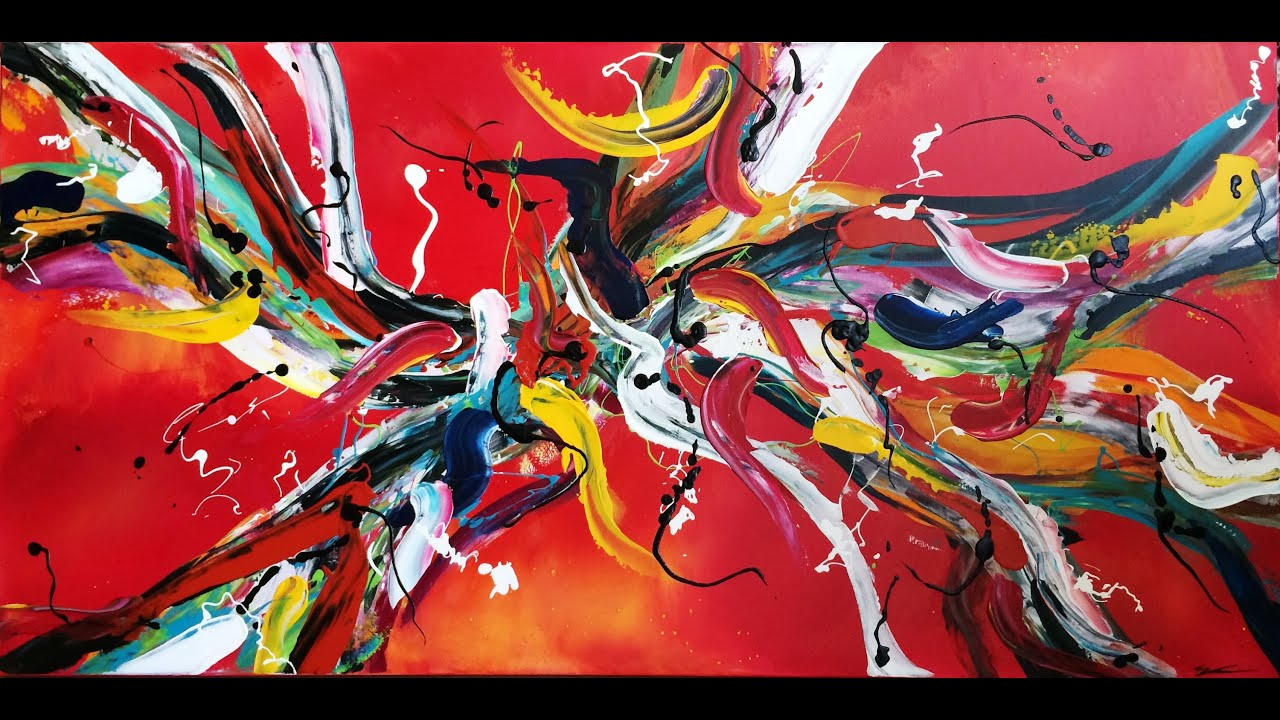 Online abstract art lessons preview of video tutorials for Modern art gallery online