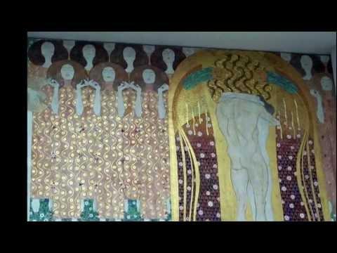 Gustav Klimt, Beethoven Frieze, Vienna Secession, 1902