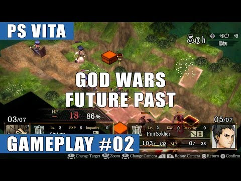 God Wars: Future Past PS Vita Walkthrough/Gameplay #2 (Chapter 1, Episode 2 + 3)