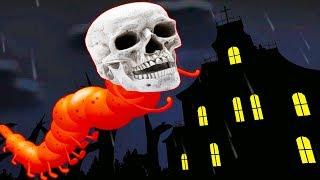 Челлендж ПОБЕГ из СТРАШНОГО ЗАМКА 1000 комнат в огромном страшном доме с приведениями мульт игра