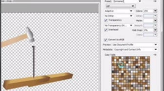 Convert PNG Images to Transparent GIF Using PhotoShop