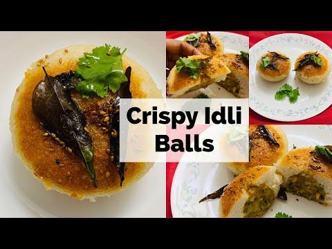 Crispy Idli Balls Instant Recipe | तुरंत बनायें क्रिस्पी स्टफ्ड इडली बनाये वो भी बिना इडली स्टैंड के
