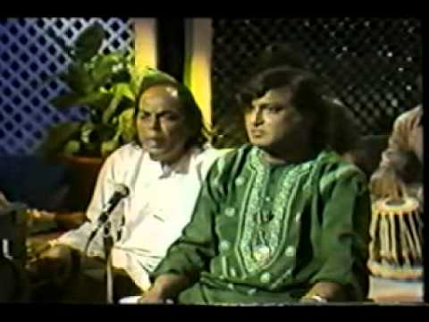 Chadhta suraj dheere dheere dhalta hai dhal jaaega, Aziz Naza live at Canada
