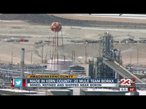 Made In Kern County: Borax Mine