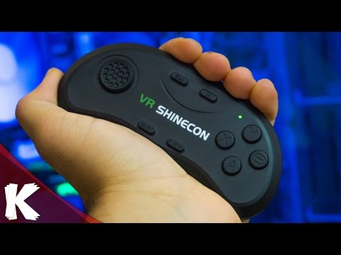 Shinecon Gamepad | The Next Best Bluetooth Controller For VR | Review