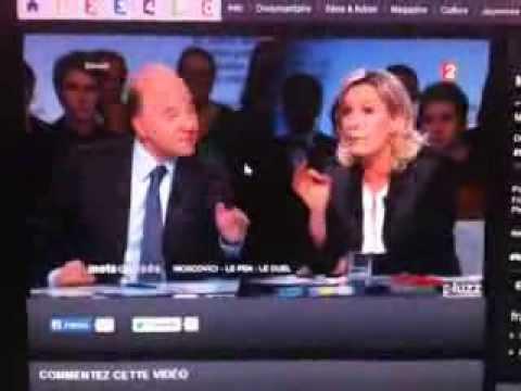 Mots croisés - Marine Le Pen & Pierre Moscovici - Crédit Agricole