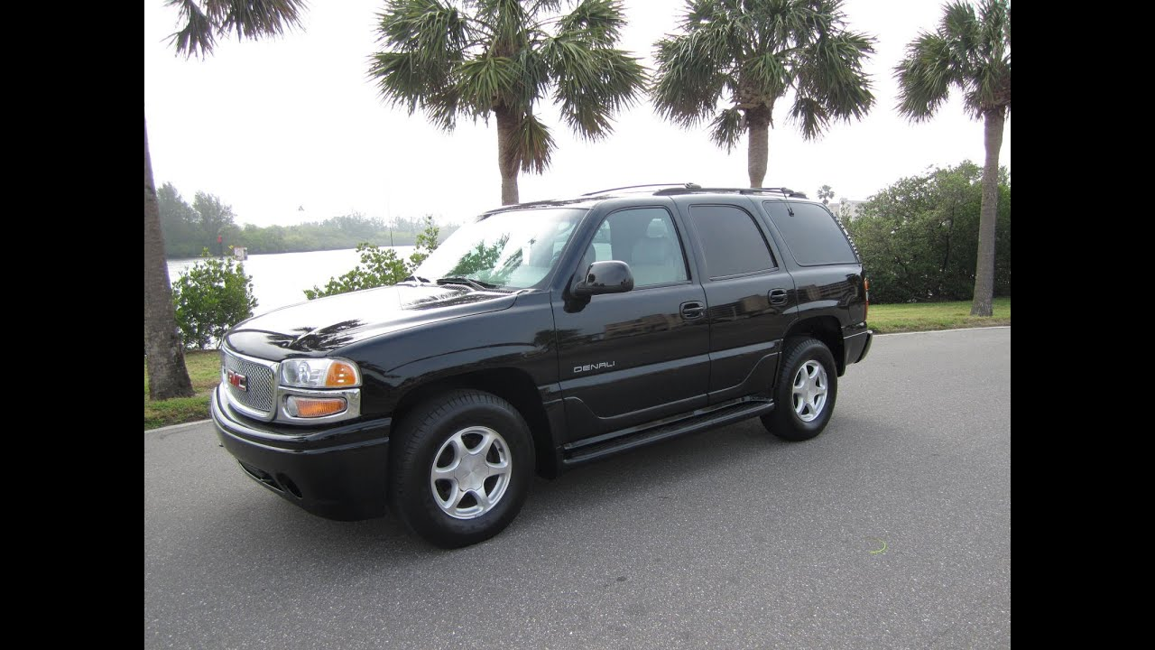 Gmc Yukon For Sale >> SOLD 2001 GMC Yukon Denali AWD 95K Miles Meticulous Motors Inc Florida For Sale - YouTube
