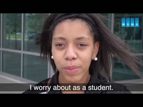Detroit highschool students oppose police brutality, support teachers struggle