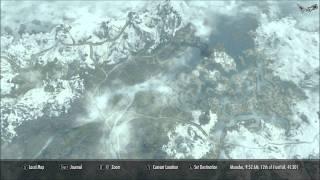 Skyrim - Quality World Map - With Roads  MOD v8.0