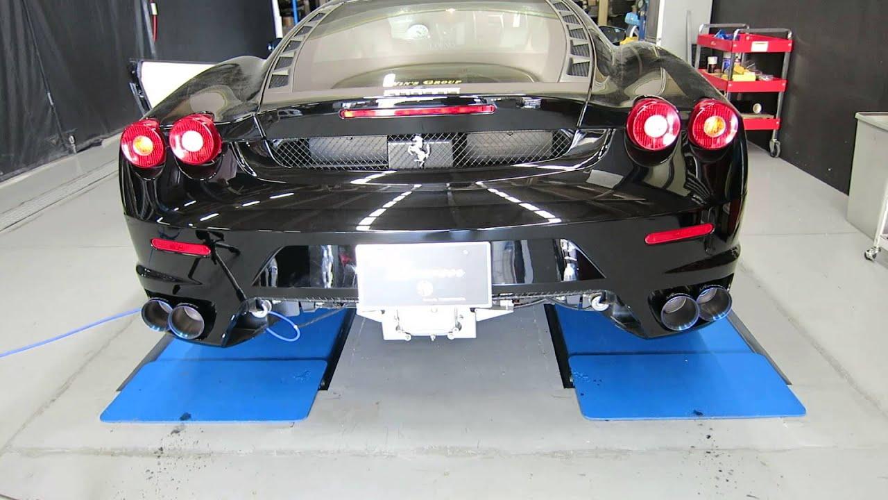 Resultado de imagem para Ferrari f430 titanium exhaust