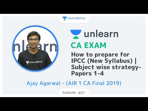 How to prepare for CA Intermediate (New) | Subject wise strategy Papers 1-4 | AIR 1 CA Ajay Agarwal