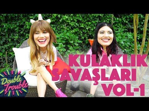 DOUBLE TROUBLE  | BAHAR & NİHAL CANDAN | KULAKLIK SAVAŞLARI !