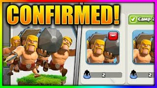 NEW Battle Ram Gameplay In Clash Of Clans | BUILDER HALL UPDATE | CoC New Troop Attacks!