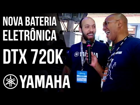 DTX-720K - Nova Bateria Eletrônica Yamaha [Expomusic 2016]