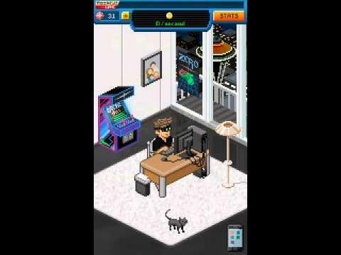 Обзор игр на андроид (bitcoin Billionaire)