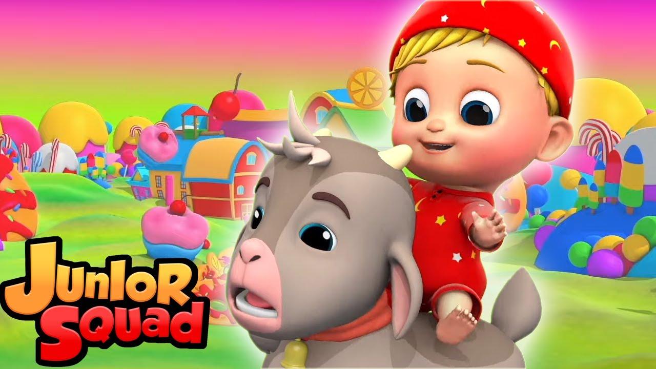 Тише маленький ребенок   песенки для детей   мультфильмы   Junior Squad Russia   детский сад