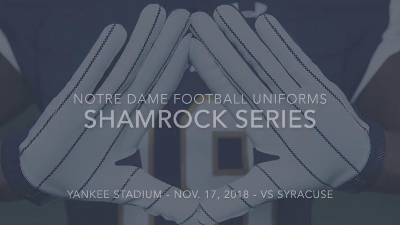 ceef1127 Notre Dame Football: Yankee Stadium Uniforms