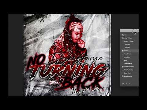 Live Design - Mixtape Cover - Dycegame   No Turning Back