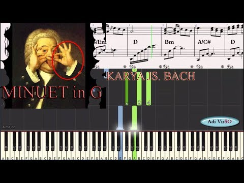 belajar-piano---minuet-in-g-(j.s.bach)-tutorial