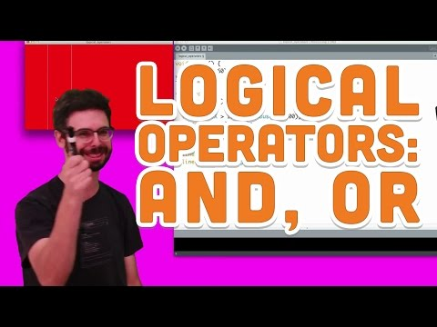 5.3: Logical Operators: AND, OR - Processing Tutorial