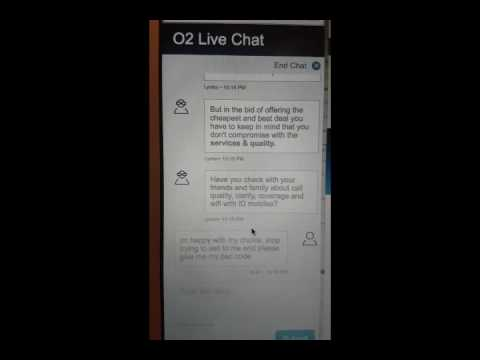 Why You Should Never Use O2 Live Chat (unless You Have A Spare 90 Mins!!)