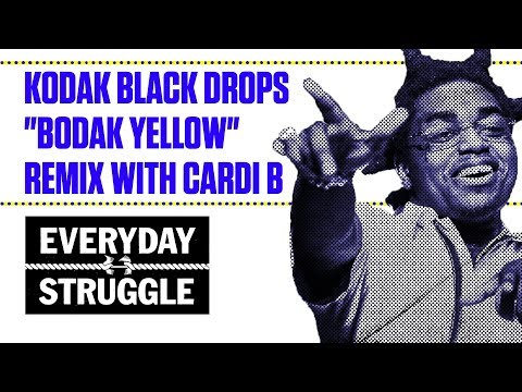 "Kodak Black Drops ""Bodak Yellow"" Remix With Cardi B 