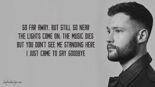 Dancing On My Own   Calum Scott Lyrics