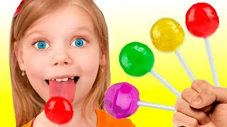 Color song with Fruit Candy | Kids Song | Vitalina life