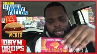 McDonalds McRib Review (as aired on Jimmy Fallon) thumbnail