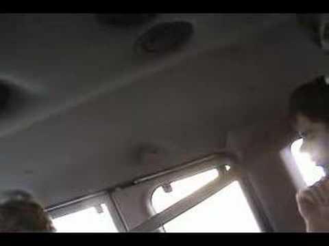 {{SUNSET}} aaaaaa song in the van