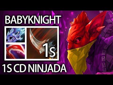 Comeback with BH 1s CD Ninjada Gameplay by Babyknight 7.06b META Dota 2