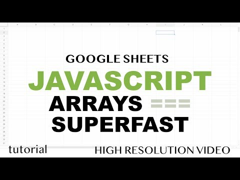 JavaScript Arrays – Programming Like a Grown Up – Google Sheets Apps Scripts – Array Methods Part 5