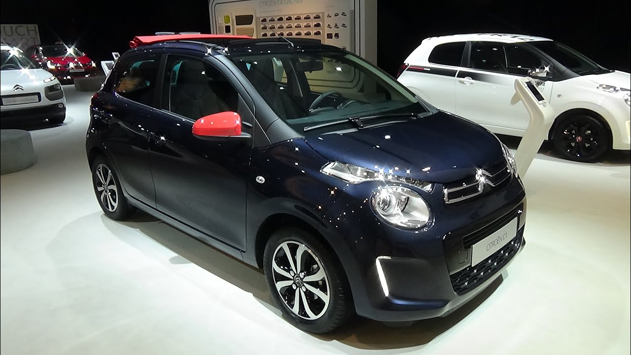 2015 - Citroen C1 Airscape, Exterior and Interior, Auto ...