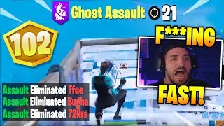 Nickmercs *SHOCKED* Spectating Ghost Assault WIN SOLO CASH CUP $5,000