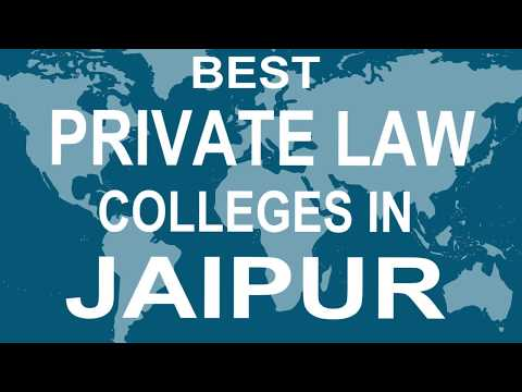 Best Private Law Colleges and Courses in Jaipur