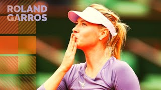 Maria Sharapova vs Eugenie Bouchard - 2013 French Open R2 Highlights
