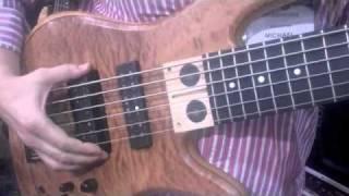 Bass Musician Magazine - Mike Pope Signature Fodera Bass at NAMM 2011