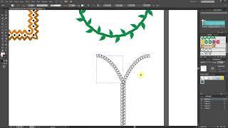 Illustrator Dersleri 39 - Illustrator Brush  Fırça Yapımı