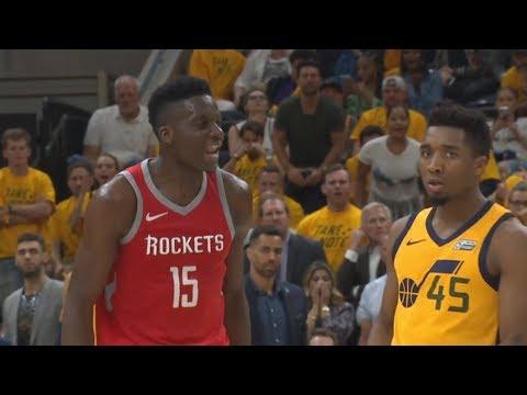 CP3 Birthday Game 4! Capela 6 Blocks! 2018 NBA Playoffs