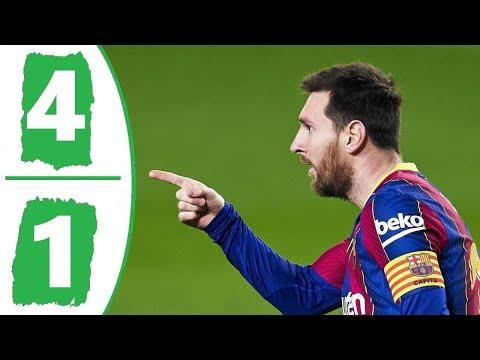 🔥 Барселона - Уэска 4-1 - Обзор Матча Чемпионата Испании 15/03/2021 HD 🔥