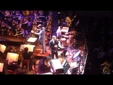 Jose James @ Concertgebouw Amsterdam with the Royal Concertgebouw Orchestra 29042013 'Vanguard'
