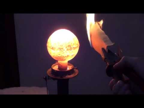 How to ignite a gray paper using porous radiant burner