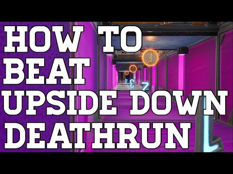 How To Complete Upside Down Deathrun By Ertyez (All Levels) Fortnite Creative Guide