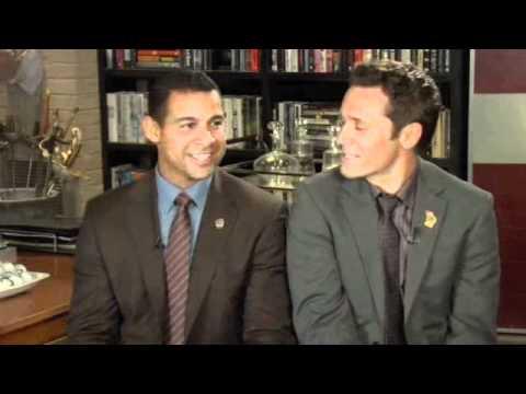 Jon Huertas & Seamus Dever  Salt & Peppa