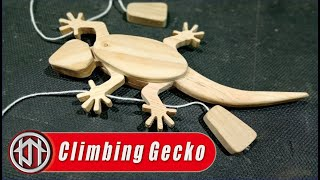 How To Make Wooden Lizard Climbing On The Wall - Free Plans Scroll Saw Patterns
