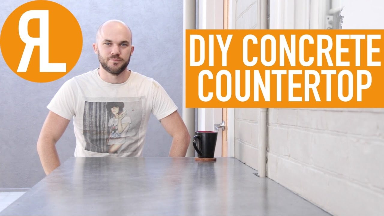 Making Your Own Concrete Countertop How To Make A Concrete Countertop It S Easier Than You Think