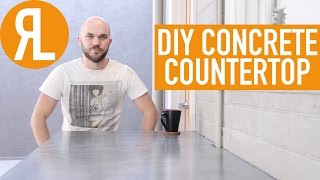 Make Your Own Concrete Countertop, It