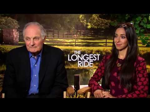 Alan Alda & Oona Chaplin Talk 'Longest Ride' Emotional Complexity
