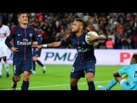 GOL DE NEYMAR ! PSG 6 x 2 Toulouse - Campeonato Francês 2017