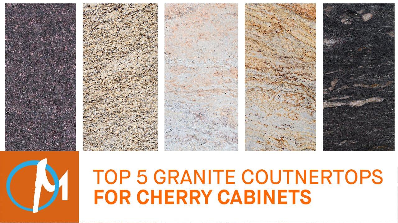 best granite colors for living room india furniture designs in sri lanka top 5 granites countertops cherry cabinets youtube
